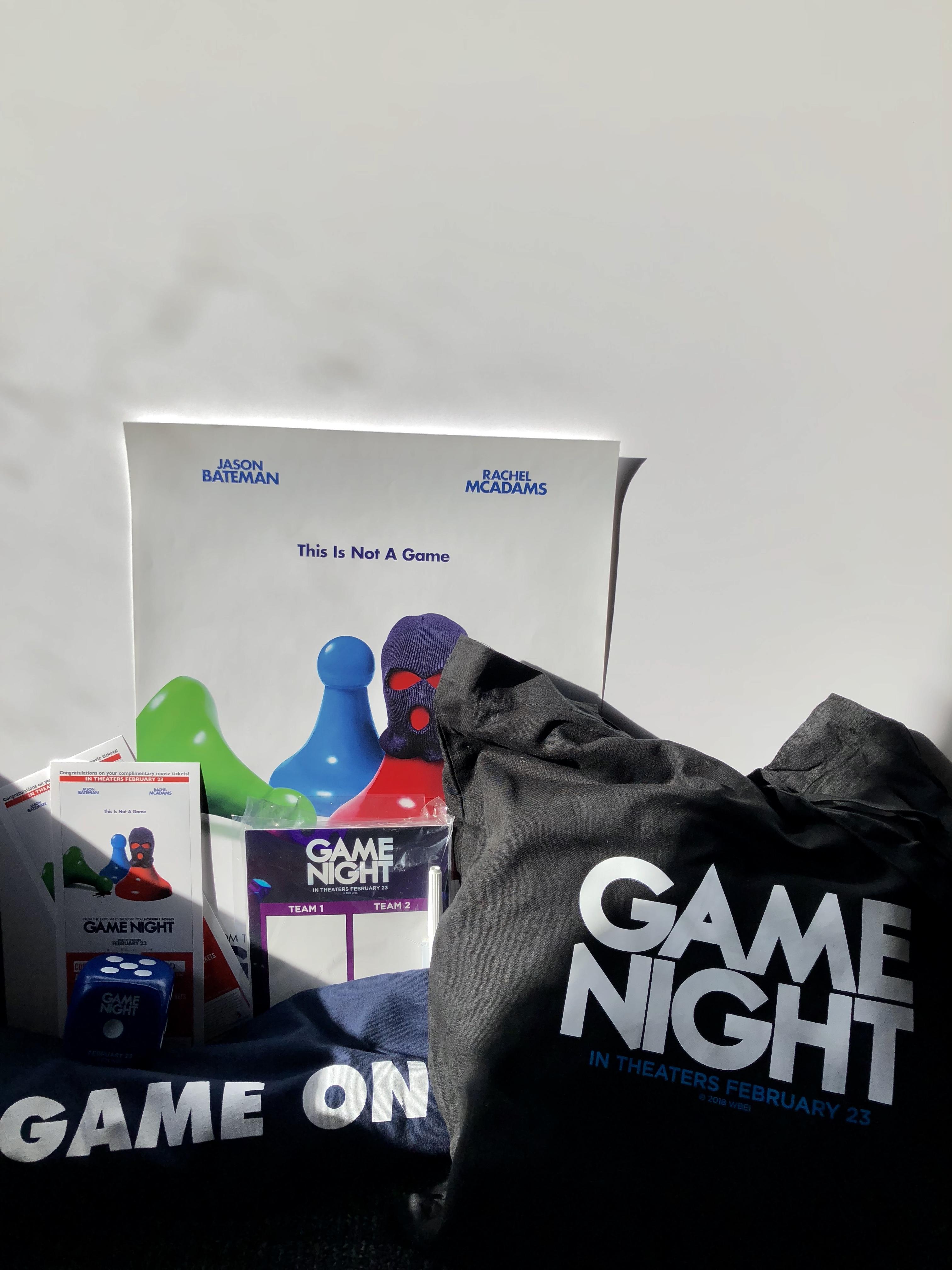 GAME NIGHT Merchandise Sweepstakes