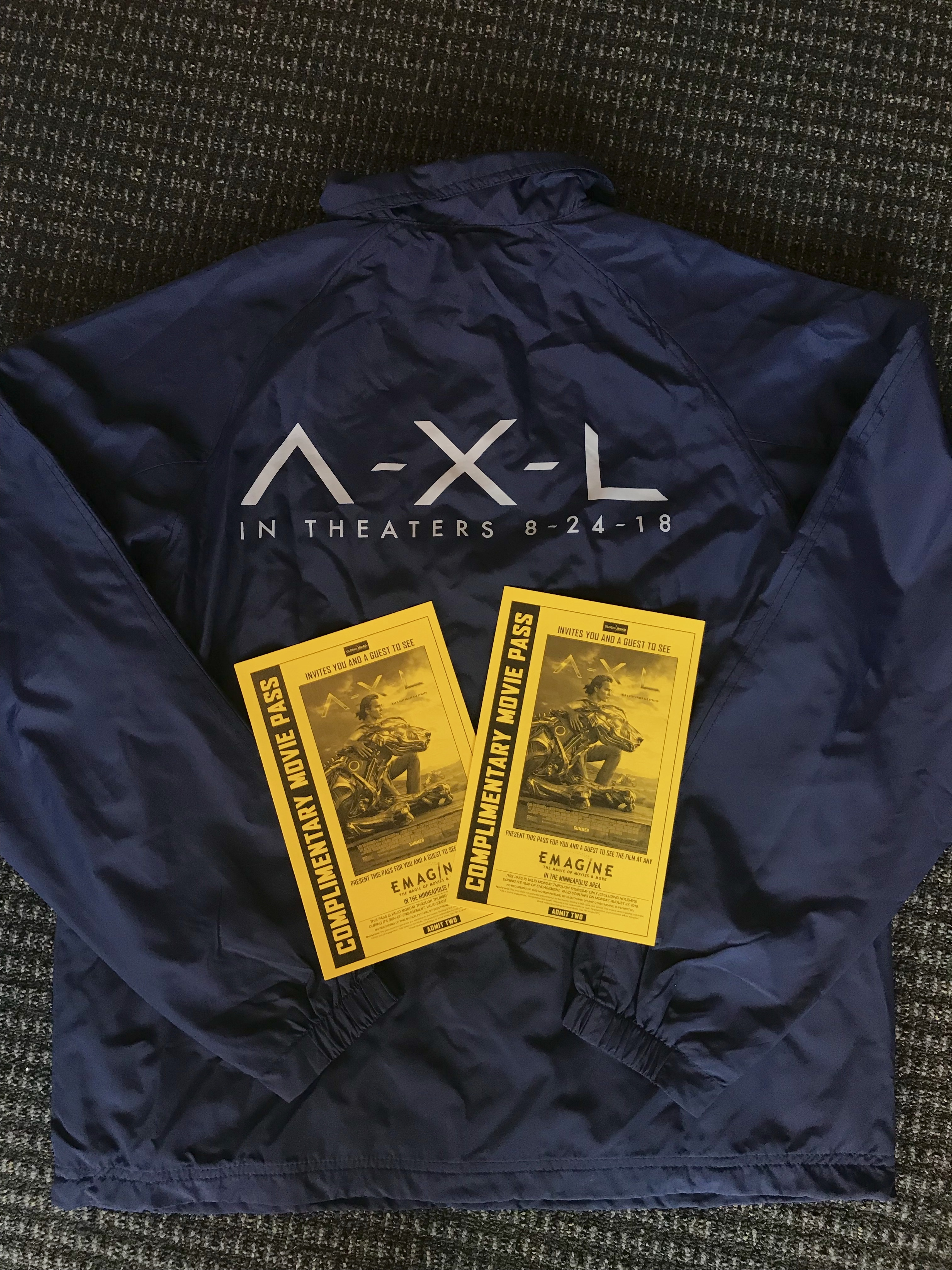 A X L  Merchandise Sweepstakes